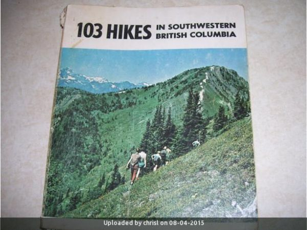 _103 Hikes Cover 1st Edition