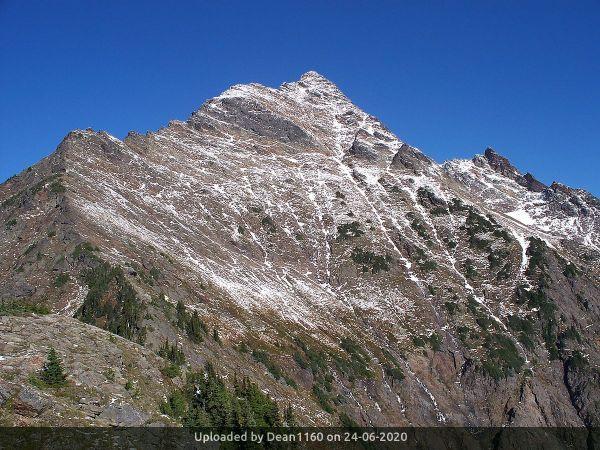 _Welch Peak, looking North