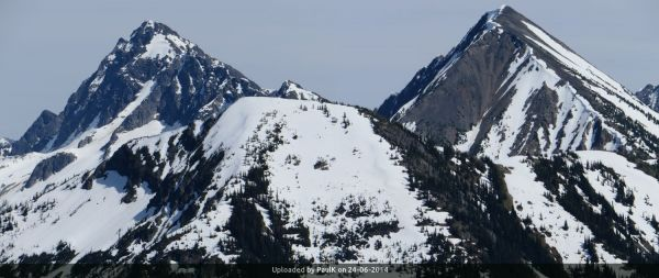 _Castle Peak (l), Full Moon Rising (r), Scimitar (foreground)