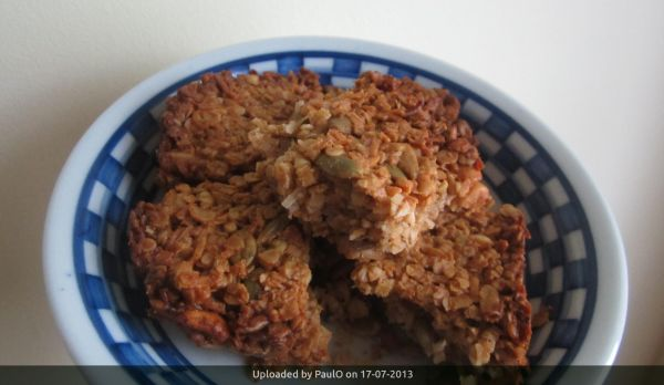 _Coconut Granola Breakfast Squares