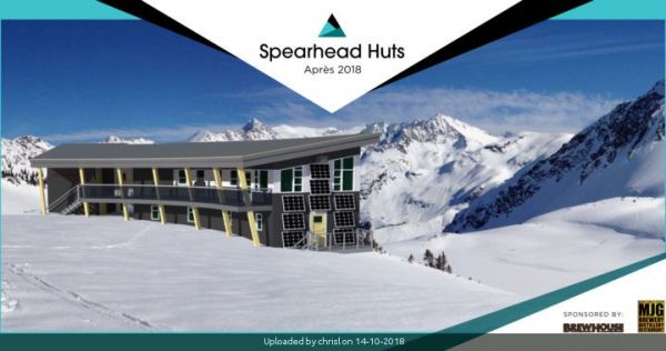 _Save the Date: The Spearhead Huts Après 2018