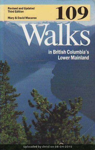 _109 Walks Cover - Third Edition