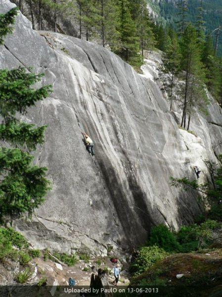 _Funarama Wall in Squamish Bluffs