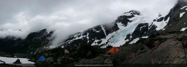 _Anniversary glacier - Leading on a glacier training