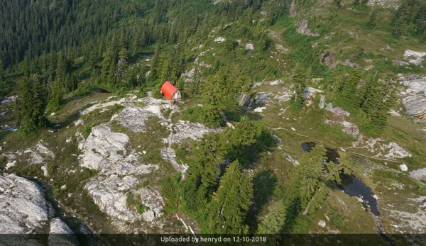 _a few images of the Mountain Lake hut location