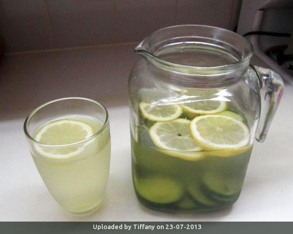 _Tencha Green Tea Cucumber Water