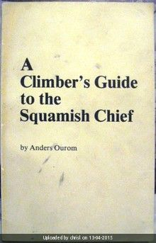 _Cover of A Climber's Guide to the Squamish Chief
