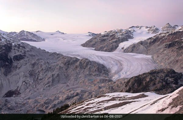 _Pemberton Icefield from Little Ring Mountain