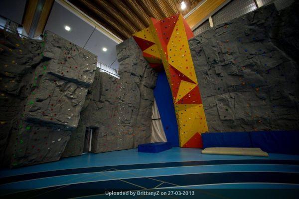 Olympic Oval Climbing Wall