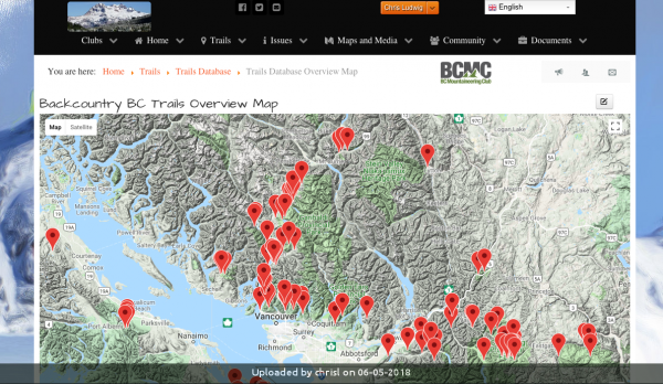 _BCMC lunches the BackcountryBC Website