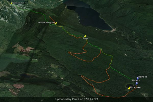 _Alouette Mountain trails