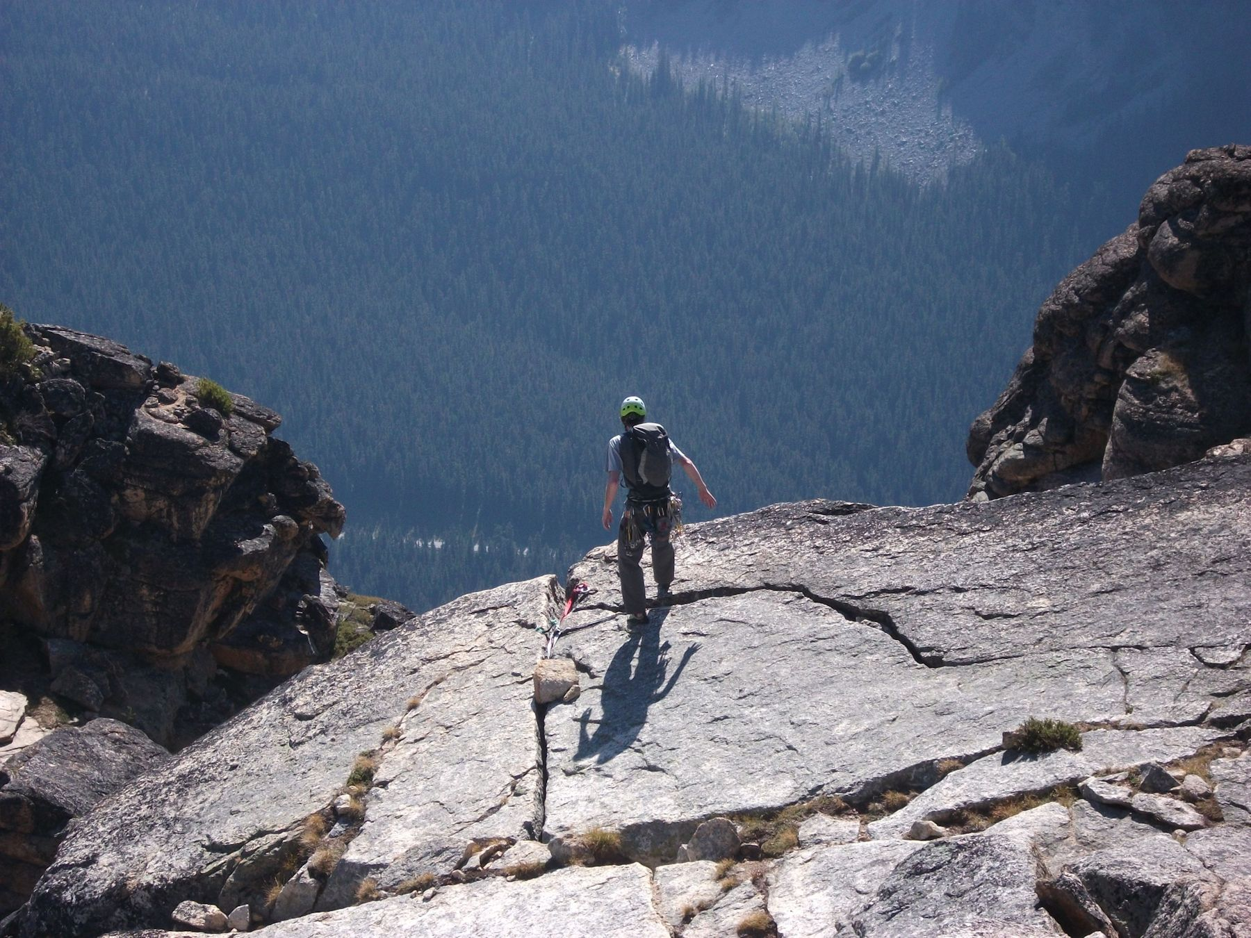 Rap anchor at top of Pitch 15
