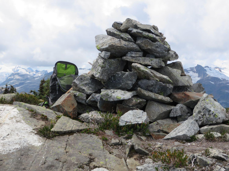 Sigurd Peak cairn