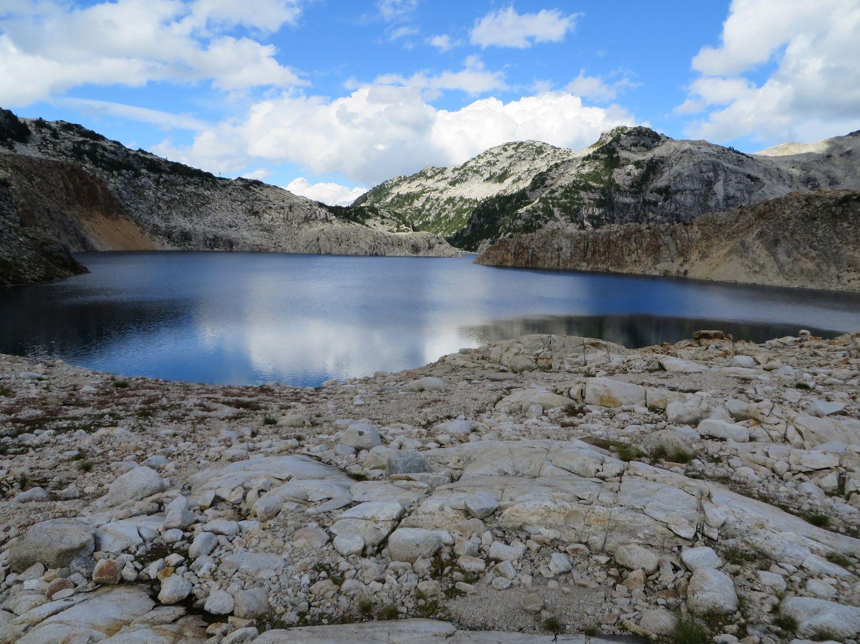 A last look at Sigurd Lake