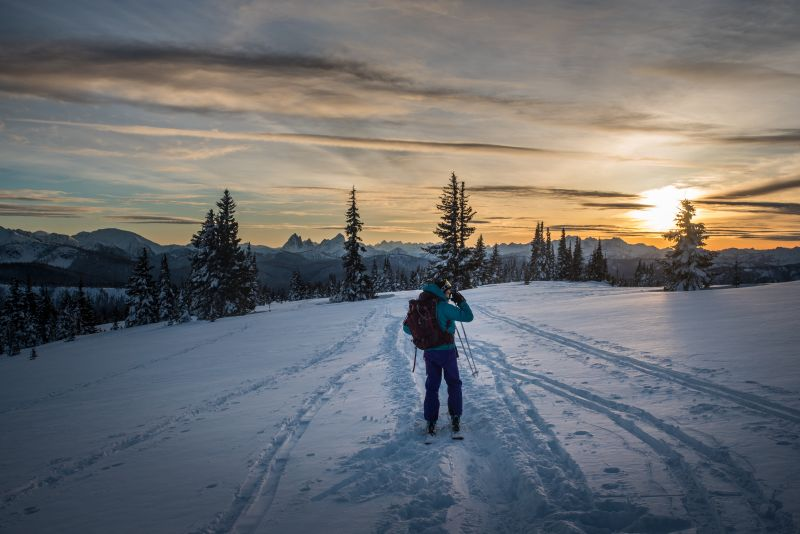_backcountry ski/camp for family day weekend