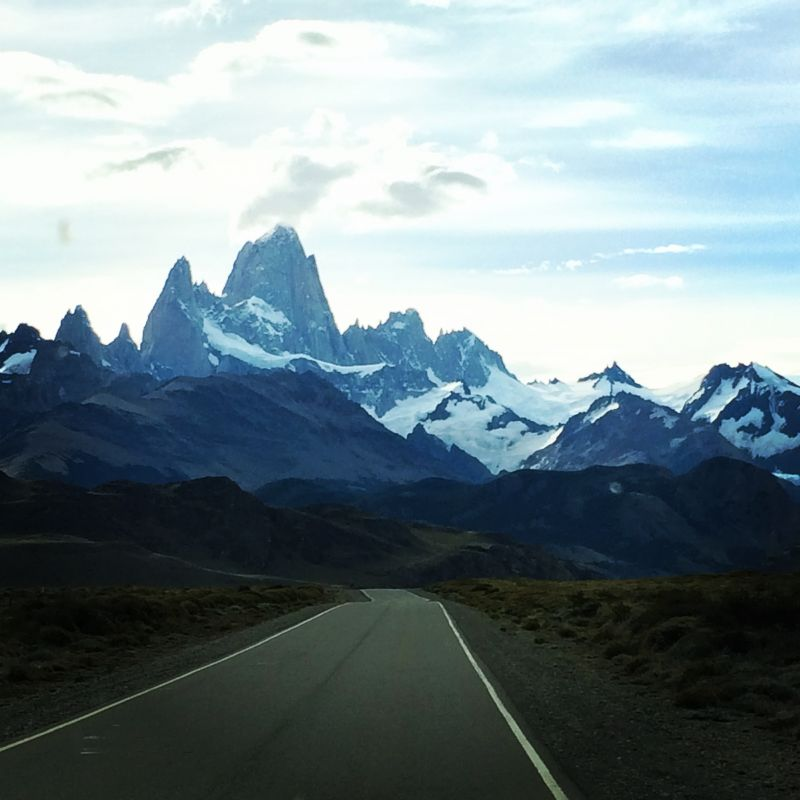 _The road to El Chalten